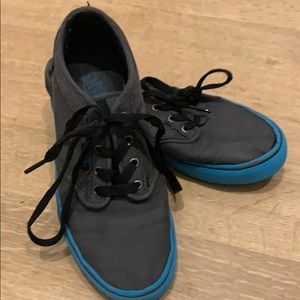 Lightly worn youth vans shoes